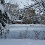 Lac en hiver (4) )